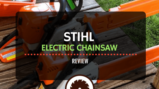 Stihl Electric Chainsaw Review Electrosawhq Com