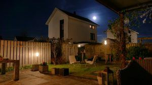 Add low-voltage outdoor lighting to give your yard a magical touch