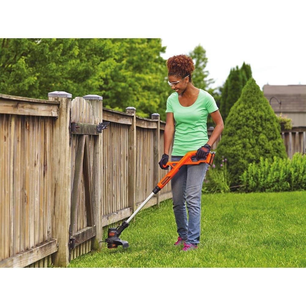 Black and Decker cordless Weed trimmer Manual
