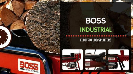 Boss Industrial Electric Log Splitter Review