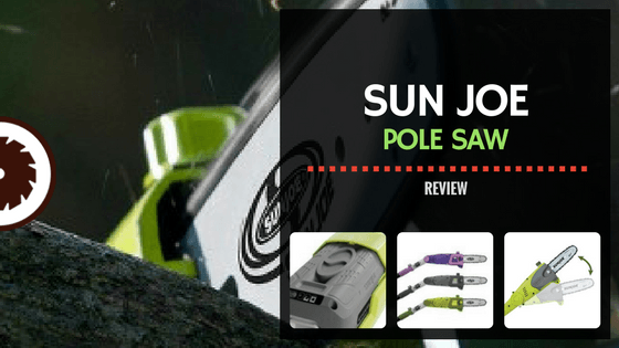 Sun Joe Pole Saw Review