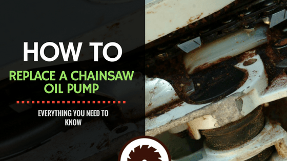 How To Replace a Chainsaw Oil Pump