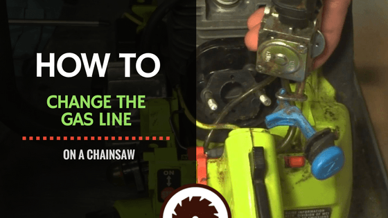 How to Change the Gas Line on a Chainsaw