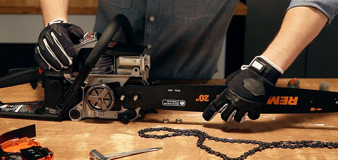 How to sharpen a chainsaw manual procedure vs electric sharpener put chain back in saw greentooth Choice Image