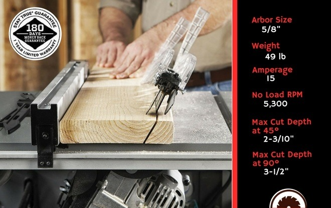 Best Portable Table Saw Specifications