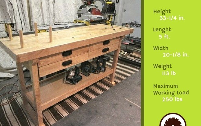 Best Woodworking Bench Specifications
