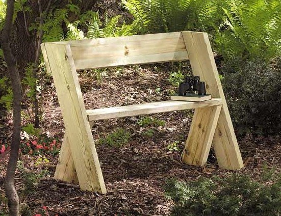 Outdoor WoodenBench