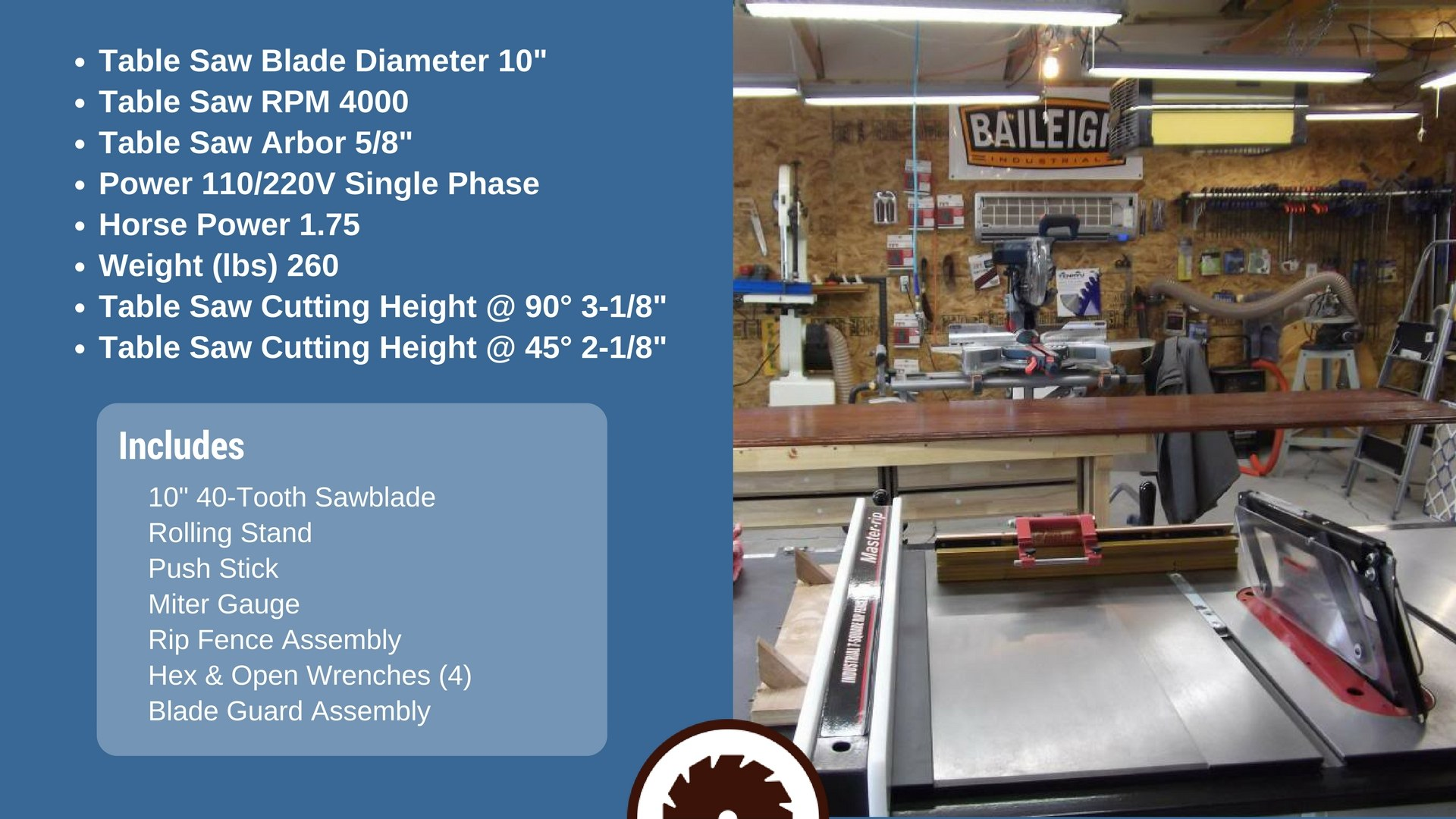 Best Hybrid Table Saw Specs