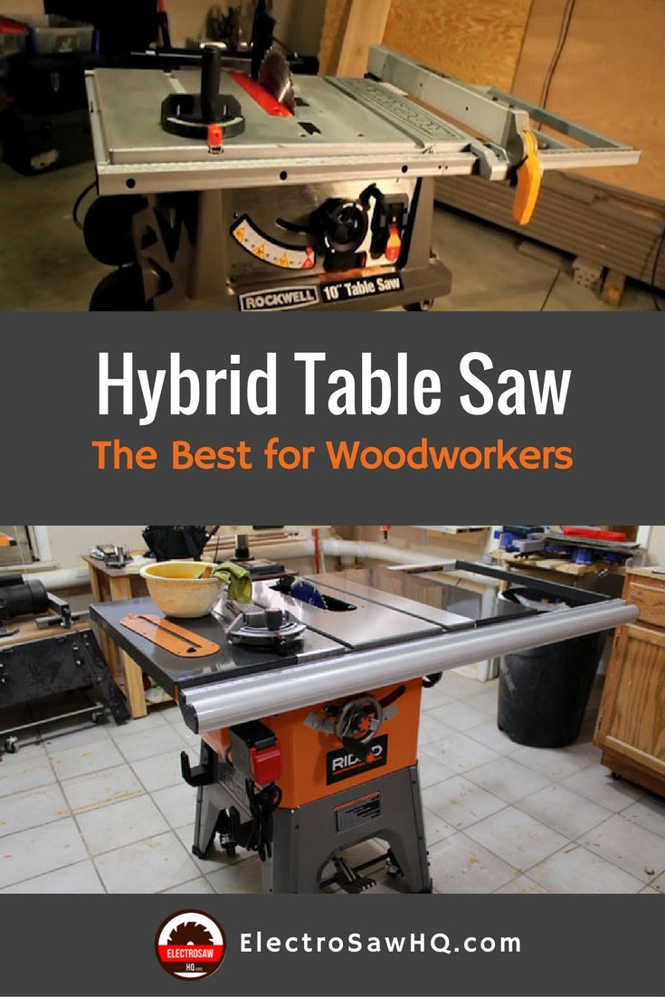 Best Hybrid Table Saw