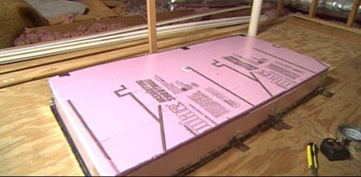 Insulate Your Attic Door