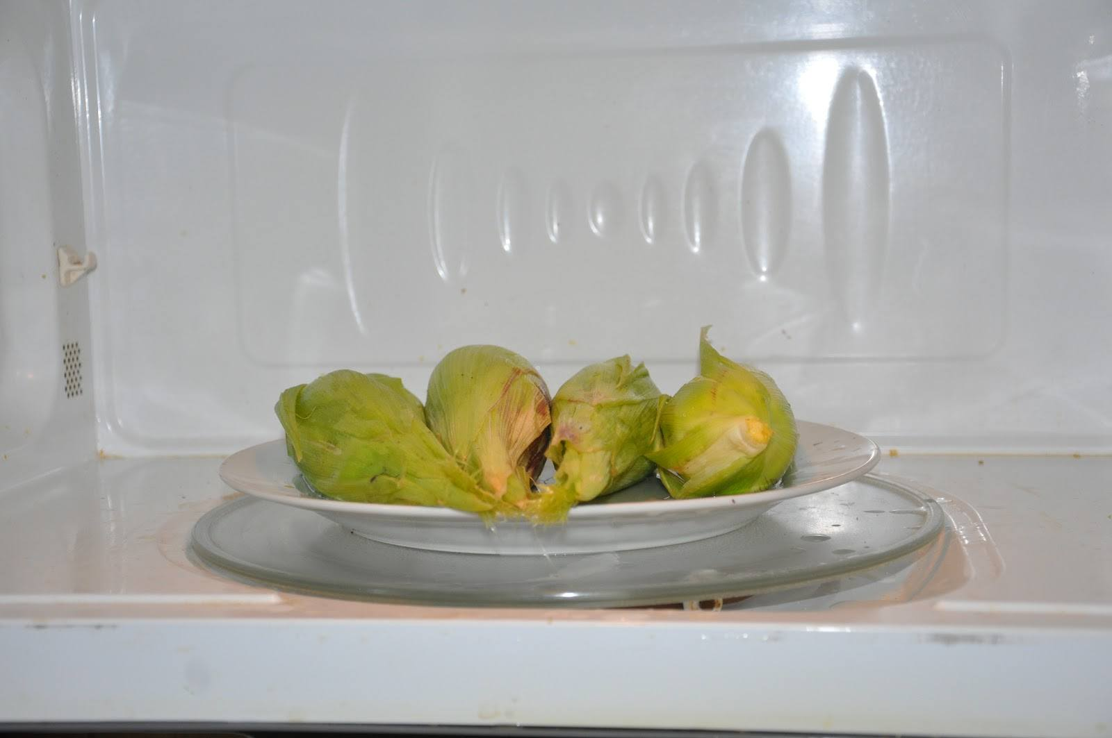 Microwave Blanching