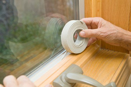 Replace or Repair Deteriorating Weatherstripping
