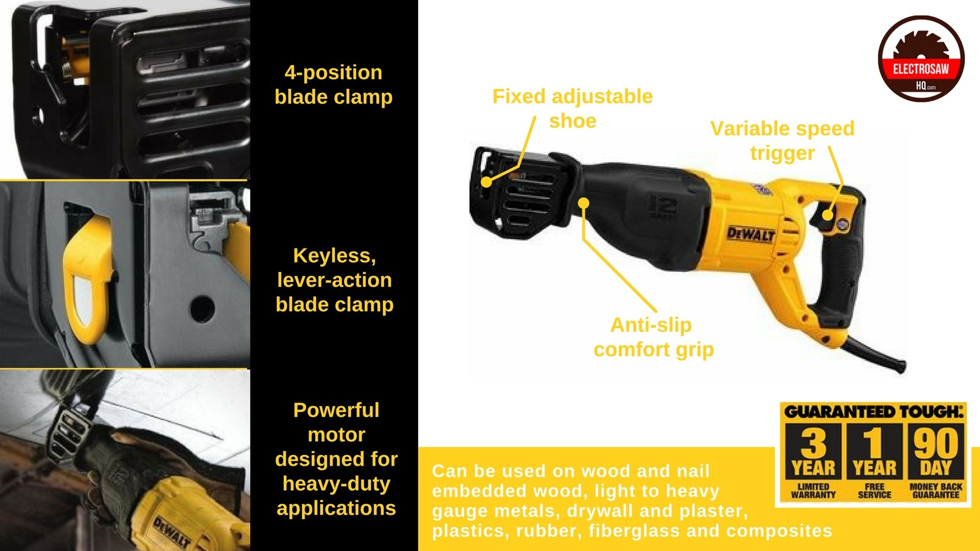 Dewalt dwe305 reciprocating saw just how good is it dewalt dwe305 review keyboard keysfo Gallery