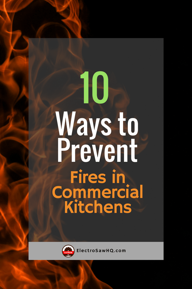 10 Ways to Prevent Fires in Commercial Kitchens