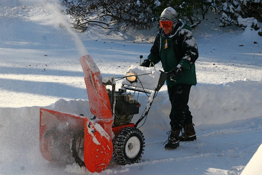 Battery-Powered Snow Blower