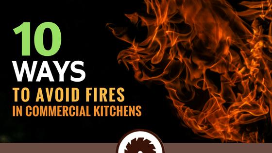 Ways to Avoid Kitchen Fires