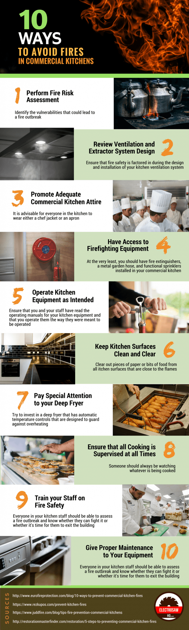 Tips Avoid Kitchen Fires