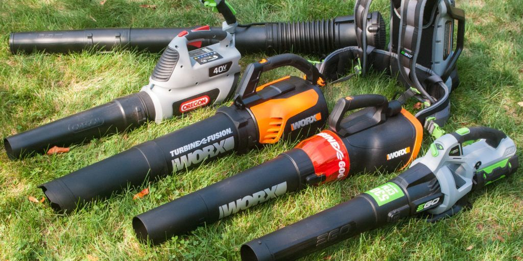 Best Commercial Leaf Blower Light-Duty Shown over Green Grass