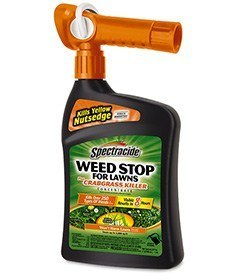 Product  bottle to Kill Crabgrass