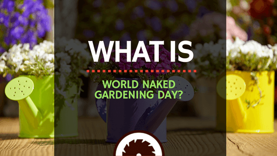 What is World Naked Gardening Day