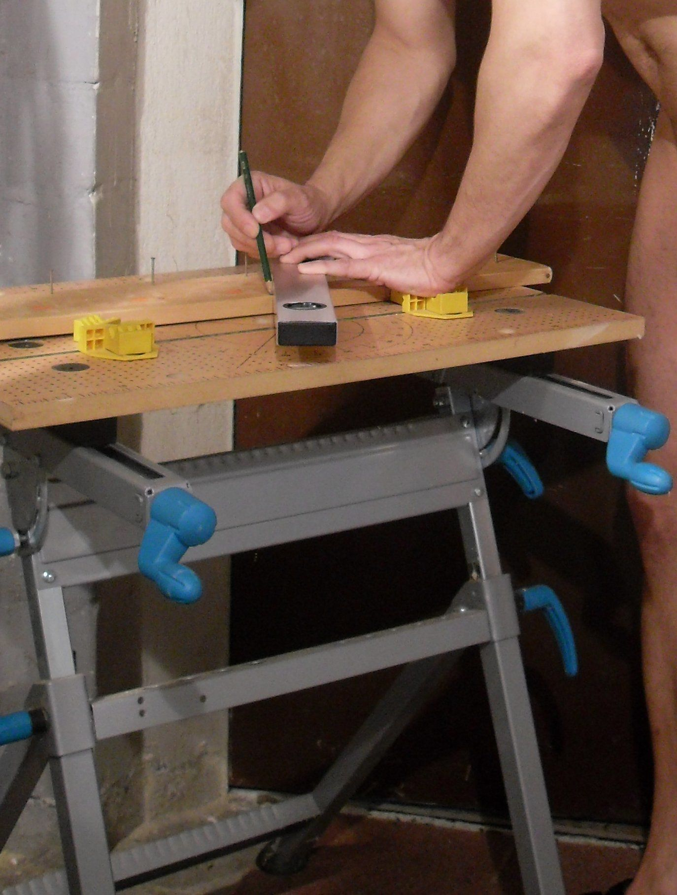 how to build a sawhorse-how to build a sawhorse-Bench-woodwork