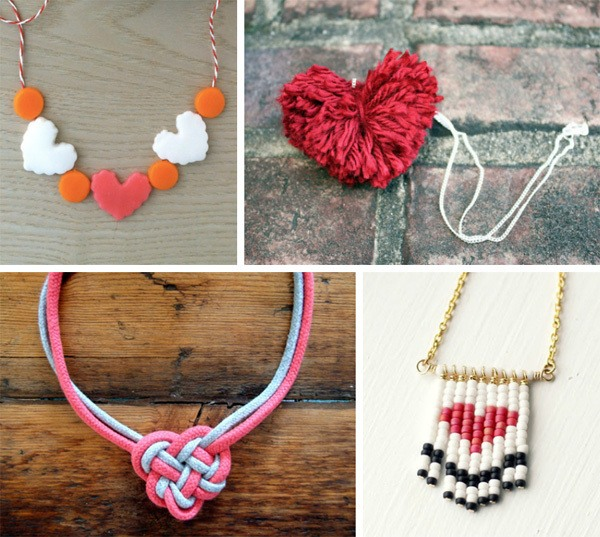 DIY Heart Jewelry