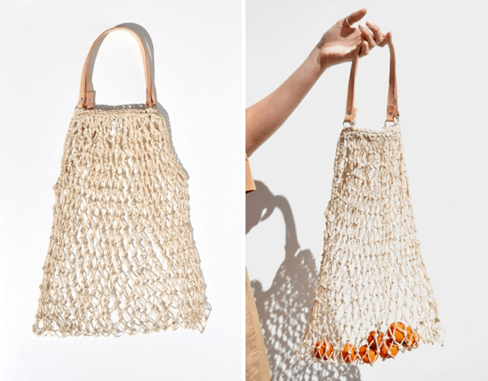 Open Weave Tote Bag