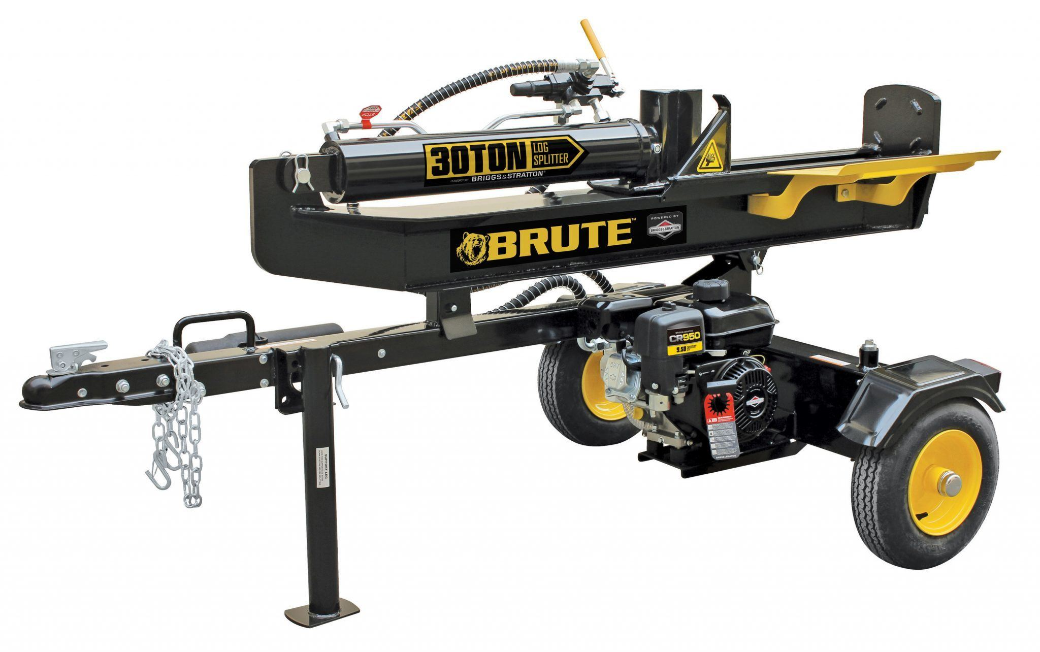 Brute 014441 30-ton Gas Powered Log Splitter