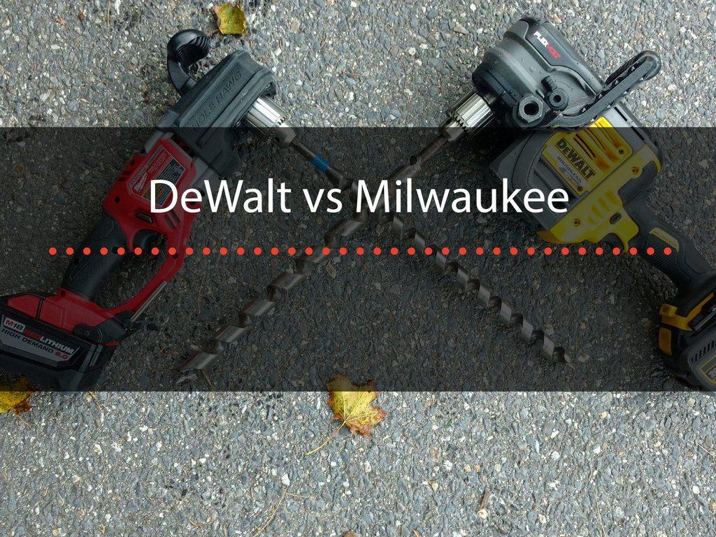 Dewalt Vs Milwaukee 2 Iconic Tool Brands Compared