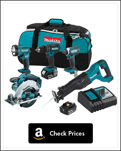 Makita-XT505-18V-LXT-Lithium-Ion-Cordless-Combo-Kit,-5-Piece